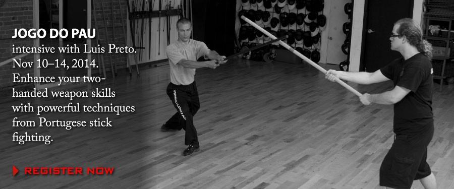 Jogo do Pau - Portugese Stick Fighting - Luis Preto