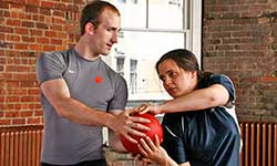 SwordFit Bootcamp medicine ball