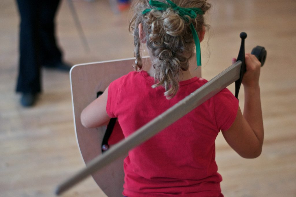 youth swordplay