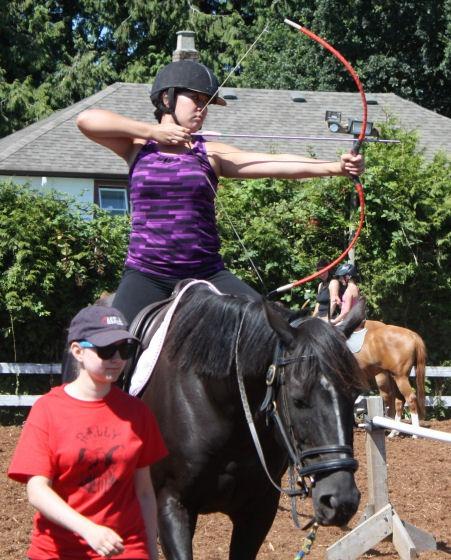 Beginner Horseback Archery