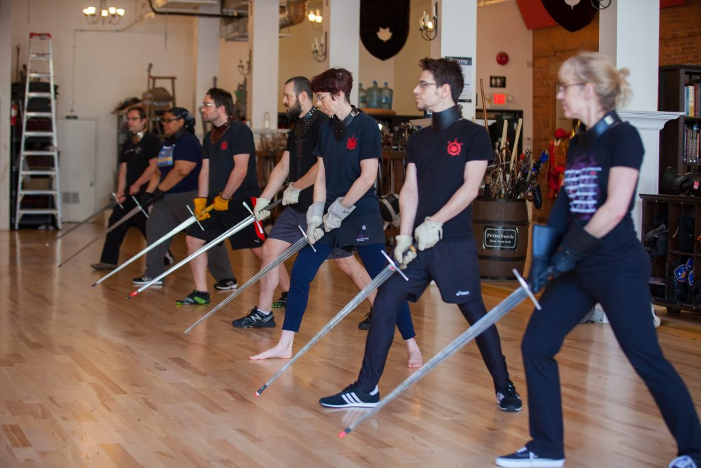 Learning swordplay is different for everyone.