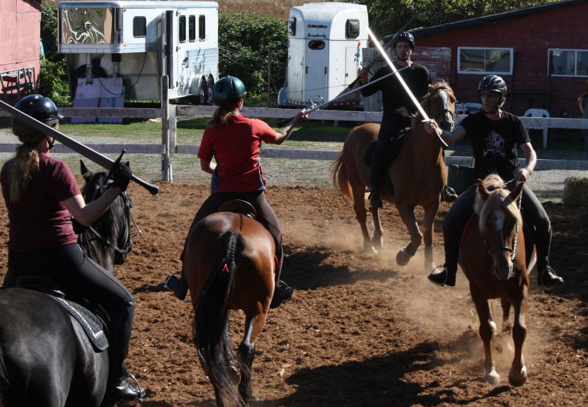 Keep an eye out for more Prix Fiore workshops this summer to practise your drill manoeuvres.