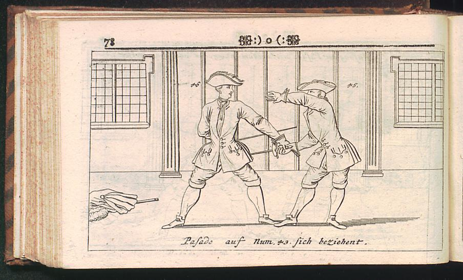 Wes Behind the Back Johann Schmidt 1713