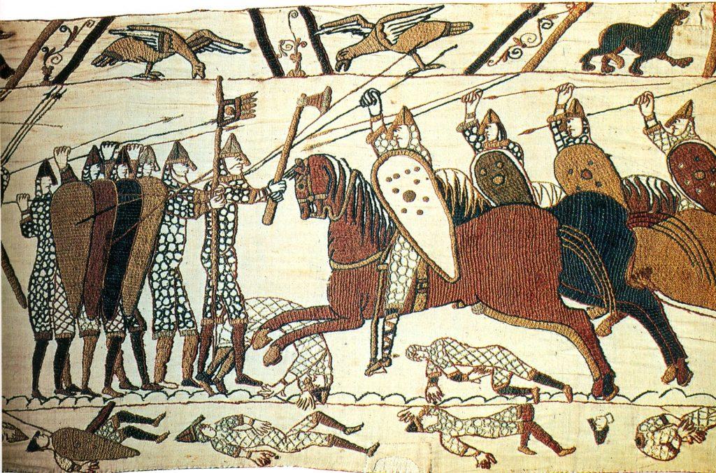 bayeux thrown spear